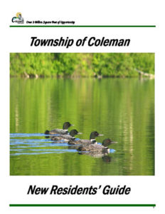 Coleman Township - Resident Guide